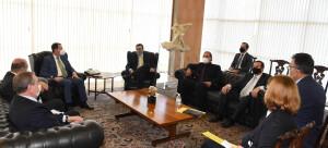 Reunião em Brasília com o Chanceler Carlos Alberto França e o Deputado David Soares